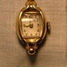 Bulova Women's Watch, Ornate Lugs & Curved Crystal c.1949