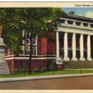Corinth Mississippi Postcard, Court House Building and Grounds c.1942