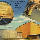 Kleinhan's Music Hall, Buffalo New York Postcard c.1940