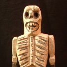 Guatemalan Folk Art Death Doll, Hand Carved and Painted c.1960