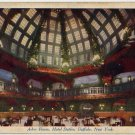 Buffalo New York Card, Arbor Room at The Hotel Statler, Full Color c.1922