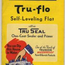 Tru-Flo Paint Products Color Swatches, Truscon Labs Detroit c.1936