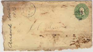 Civil War Era Business and Personal Letters, 13 Pieces c.1862 - 1875