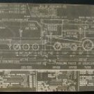 Erie Railroad Engine Diagram, Lima Locomotive c.1940