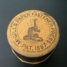 McGills Paper Fasteners Box, Precursor to The Paper Clip c.1873