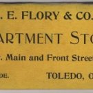 Pocket Diary Giveaway, L.E. Flory & Co. Department Store of Toledo Ohio c.1900