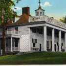 Mount Vernon Virginia Postcard, View of Washington's Mansion c.1929