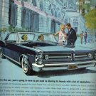 Pontiac Grand Prix Ad, Full Color Illustration c.1962
