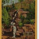 Riverside California Postcard, St. Francis Falls at Mt. Rubidoux c.1932
