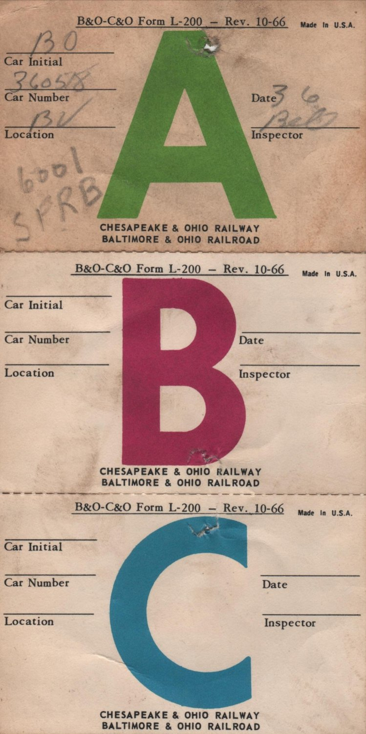 New York Central Railroad Forms & Envelopes, Some B & O, C & O and Penn. Central, 15 Pcs. c.1960