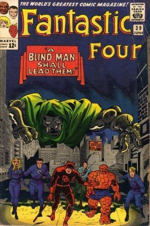 Fantastic Four #39 A Blind Man Shall Lead Them c.1965