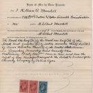 Plat Map, Survey & Deeds, Sec. No. 36, Town No. 3, Perrysburg Twp, Wood County Ohio c.1886