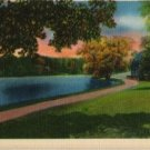 Rochester New York Postcard, Lake at Seneca Park c.1949