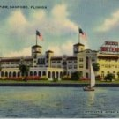 Sanford Florida Postcard, Hotel Mayfair Featuring St. Johns River Fruit c.1944
