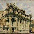 "Kansas City Missouri Postcard, Willis Wood Theatre, ""By Right Of Sword"" c.1904"