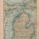 U.S. State Maps, Alabama to Wyoming, C.S. Hammond & Co. Atlas, 49 Total c.1910