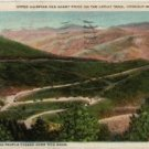 Colorado Postcard, Upper Hairpins and Windy Point on Lariat Trail, Lookout Mountain c.1920