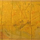 Map of Washington D.C., Rand McNally & Co. Business Atlas, Full Color c.1909