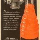 Nesbitt's of California Orange Soda Ad with Golfer and Trophy c.1951
