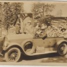Touring Car Photo, California Sightseers in Open Air Sedan c.1926
