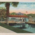 Orlando Florida Card, Swan Boat Landing Lake Eola c.1930