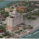 Miami Beach Florida Postcard, The Whitman Hotel, Full Color c.1930