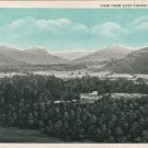 Berea Kentucky Postcard, View from East Pinnacle c.1907