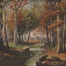 Autumn by P. Buckens Jr., Pictorial Review Color Print c.1925