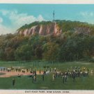 New Haven Connecticut Postcard, East Rock Park, Full Color c.1931