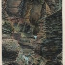 Watkins Glen New York Postcard, Minnehaha Gorge, Full Color c.1937