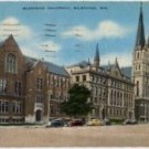 Milwaukee Wisconsin Postcard, Marquette University, Full Color c.1915