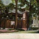 Boston Massachusetts Postcard, Johnson's Gate at Harvard College, Full Color c.1915