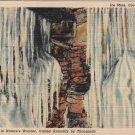 Coudersport Pennsylvania Postcard, Ice Mine Interior, Full Color c.1938