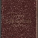 Chas. E. Houghtaling's Handbook of Useful Information, 10th Ed. c.1884