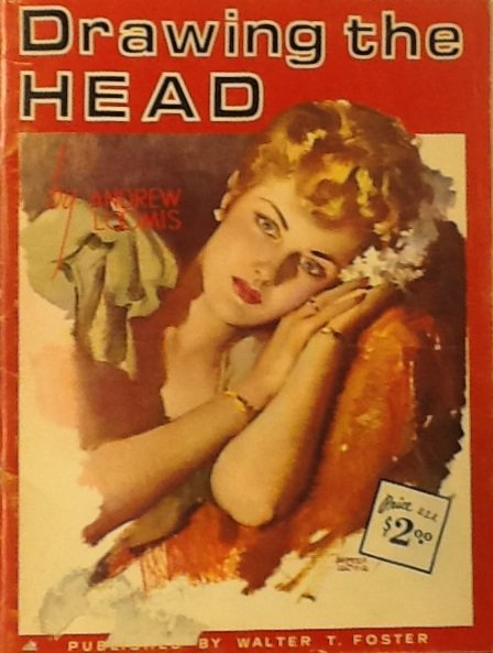 Drawing The Head, Walter T. Foster, Book No. 197 c.1952