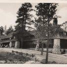 Utah Postcard, Lodge at Bryce Canyon National Park, Black & White Real Photo c.1937
