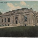 Toledo Ohio Postcard, Post Office Building and Grounds, Full Color c.1914