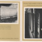 Chicago Illinois Postcards, Marshall Field's Stores, Black and White Set of Ten c.1933
