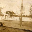 Ohio Postcard, Toledo Beach Bath House, Sepia Real Photo c.1900