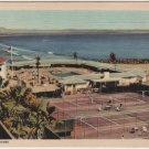 Coronado California Card, Hotel Del Coronado, The Beach and Tennis Club c.1941