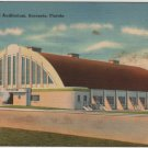 Sarasota Florida Card, Municipal Auditorium & Grounds c.1938