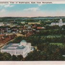 Washington D.C. Postcard, Panoramic View of Washington, East from Monument, Full Color c.1929