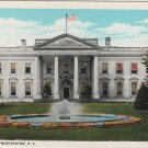 Washington D.C. Postcard, The White House, Full Color c.1929