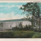 Toledo Ohio Postcard, Art Museum and Grounds c.1925