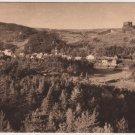 Murols France Postcard, Puy-de-Dome, WWI Era Sepia Tone c.1917