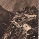 St-Martin-Du-Canigou France Postcard, The Abbey, WWI Era Sepia Tone c.1917