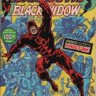 Daredevil #100 Black Widow & Mindstorm c.1973