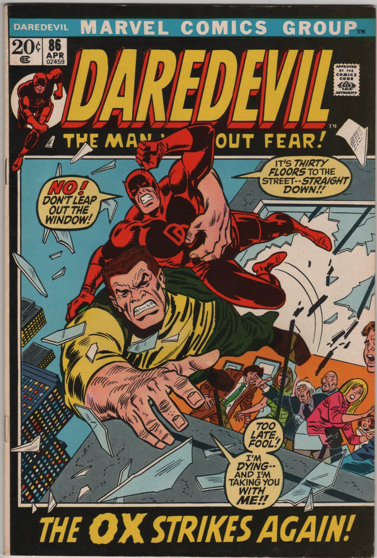 Daredevil #86 The Ox Strikes Again c.1972