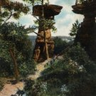 Kilbourn Wisconsin Postcard, Stand Rock, Dells of the Wisconsin River c.1900