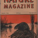 Nature Magazine, Muskrat, Orange Hexom Cover c.1946